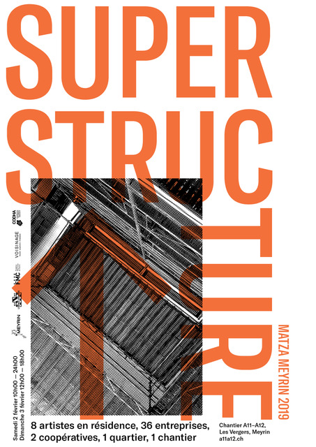 Exposition Superstructure aux Vergers